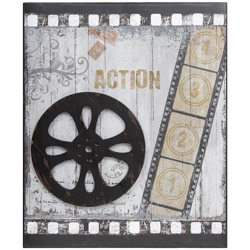 Tela Metal Antique Action - 02298 GoodsBR