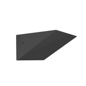 Arandela Triangular Preta 1x R7S - Hansa AR006