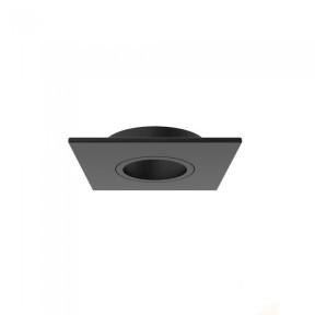 Embutido Face Plana 1x Mini Dicróica  preto