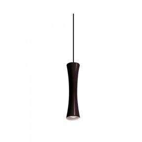 Luminária Pendente Sottile 30cm 1x Dicroica - New Line ST20011 preto