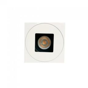Embutido Fixo Face Plana Branco 1x GU10 - Interlight IL0122-BR