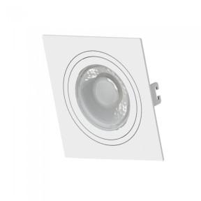 Spot de Embutir Branco Face Plana 1x Mini Dicróica / Dicróica - Save Energy SE-330.1031