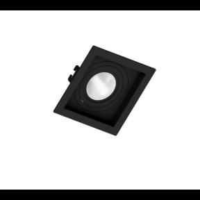 Spot de Embutir Preto Face Recuada 1x Par20 - Save Energy SE-330.1044