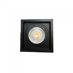 Spot de Embutir Preto Face Recuada 1x Par30 - Save Energy SE-330.1060