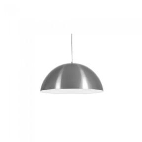 Pendente Athenas Premium Alumínio Escovado 42cm 1xE27 - Nobre 1061