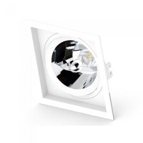 Spot de Embutir Face Recuada 1x AR111 - Save Energy SE-330.1064