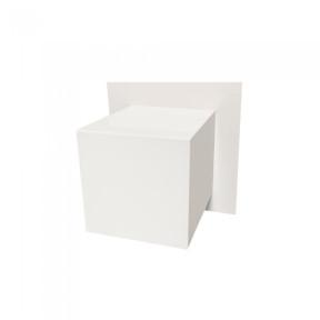 Arandela Facho simples Branca 1x Halopin - Hansa 107V