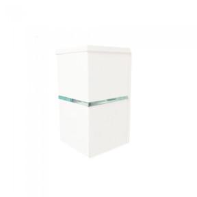 Arandela 1 friso Externa Branca 1x Halopin - Hansa 118/1