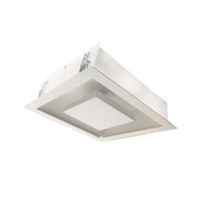 Embutido luz indireta Alum. Branco 35cm 2x G9 - Hansa 119P