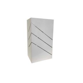 Arandela Branca Friso Diagonal 1x E27 - Hansa 172 G