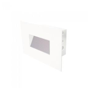 Balizador de Embutir Branco 12cm - Hansa 2110