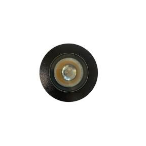 Embutido de Piso e Solo Preto com LED 8W - 20º - Interlight 3639 MD-S-PX