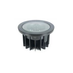 Embutido solo LED Flat In Redondo Preto 10º 2700k  - Interlight 3651- FE