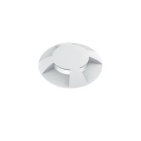 Balizador de solo Branco com Led Multi Fachos - Interlight IL3923-S-BM