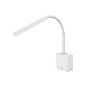 Arandela Snake Cores Dimmer LED com USB e Suporte - Interlight 4146 branco
