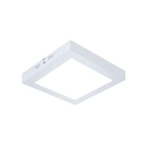 Painel LED Sobrepor Quadrado 12W 6000K 17cm - Evoled 4632