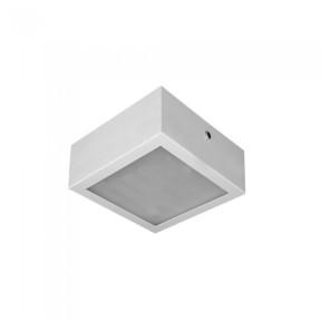 Plafon Alumínio Branco 12.5cm 1-E27 - Hansa 477