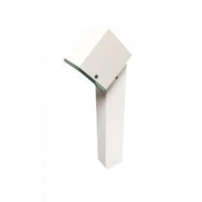 Balizador Branco para Jardim 1x Dicróica - Piuluce LED503