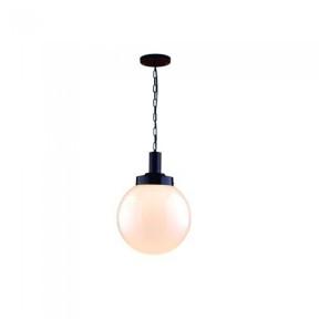 Pendente Solarium Preto 715 com Vidro - 5008 Ideal Iluminação