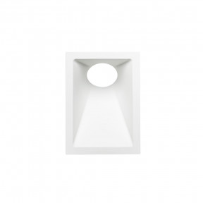 Spot de Embutir Branco Recuado Angular 1x Mini Dicróica Mr11 - Stella STH8965BR