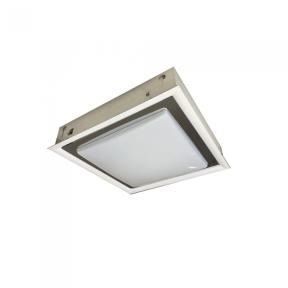 Embutido Quadrado Branco 49,5cm 8x E27 - New Line 9603BT