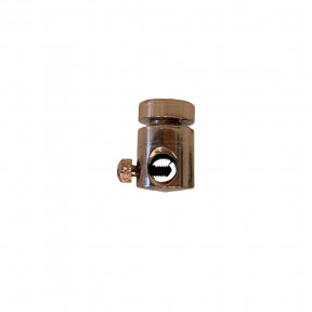 Desviador de Cabos Cobre Para Lustres e Pendentes Ø1,5cm  - Decor Lumen