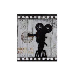 Tela Metal Antique Motion Picture - 02270 GoodsBR